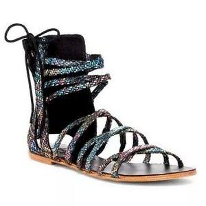 Free People Rainbow Gladiator Juliette sandal 8